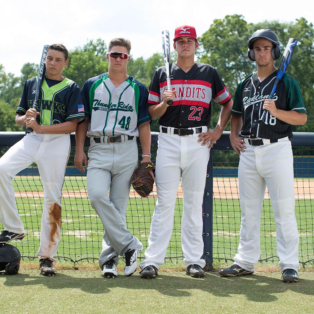mizuno baseball uniforms